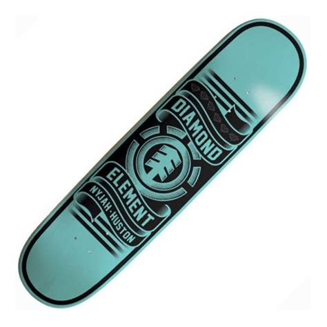 element skateboards element nyjah huston x featherlight skateboard deck 8 0
