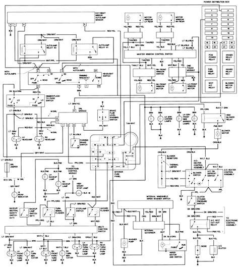 2001 mustang wiring diagram pdf 2001 free engine image