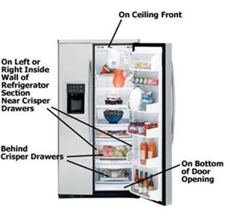 led light   ge profile refrigerator model pfcfpjxc fixya