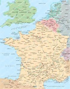 France Belgium Netherlands Map