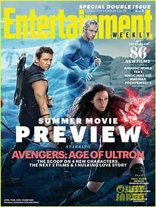 'Avengers' Cover EW's Summer Movie Preview Magazine ...
