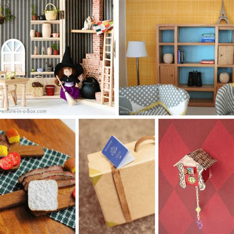 Doll House Furniture Ideas A Roundup Of Diy Doll House
