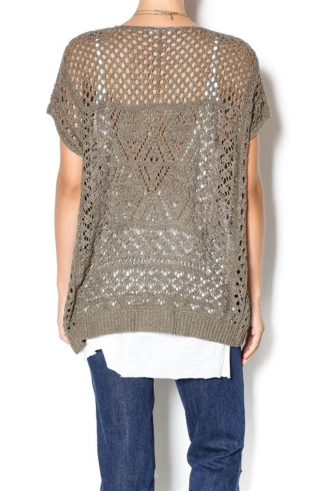 open knit sweater miracle city open knit sweater from california by ooh la