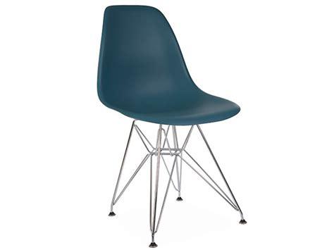 chaise eames bleu chaise dsr bleu vert