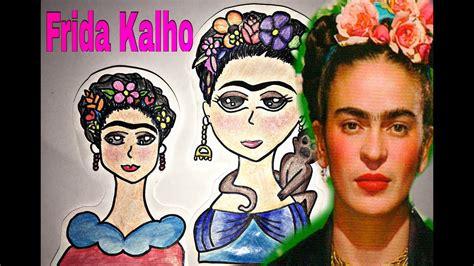 Frida Kalho Dibujo Tutorial Caricatura Alejandra