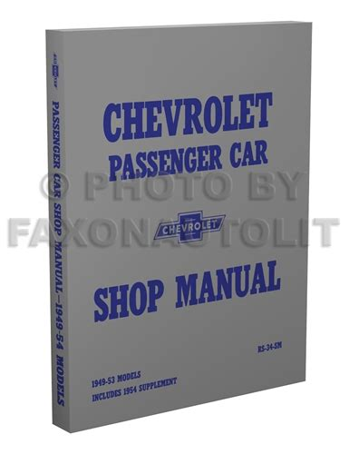 Fisher Body Welding Assembly Manual Reprint Chevrolet