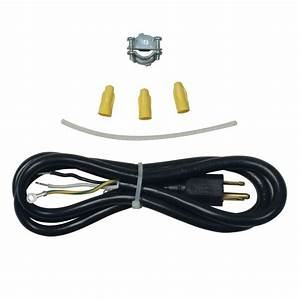 Whirlpool 3-prong Dishwasher Power Cord Kit-4317824