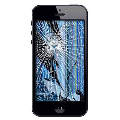 shattered iphone screen iphone 5 broken lcd price drops 40 50
