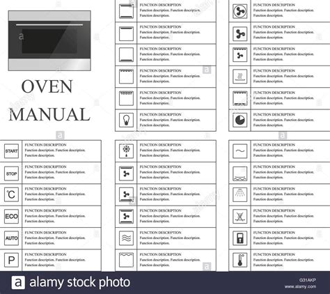 Aeg Backofen Symbole by Oven Manual Symbols Signs And Symbols For