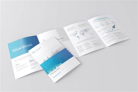 Brochure Mockup A4 4 Fold Brochure Mockup Product Mockups Creative Market