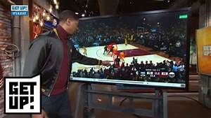 Jalen Rose breaks down film of LeBron James' block and ...