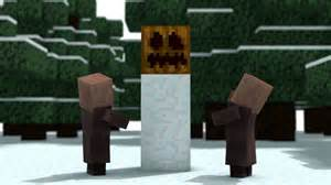 christmas with the villagers backwards minecraft animation youtube