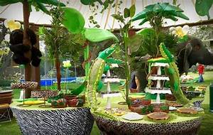 Jungle Party Decorations - Omg!!! Jungle Party Ideas