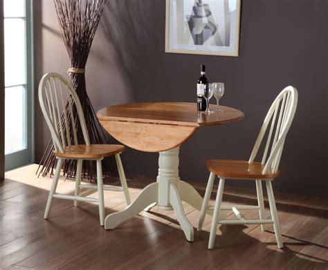 weald buttermilk drop leaf table chairs