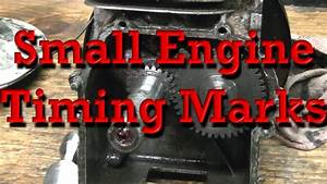 Kawasaki Small Engine Timing Mark Diagrams