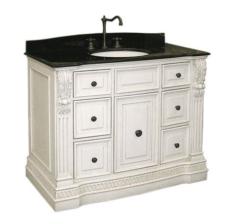 antique white vanity cabinet  bathroom vanities