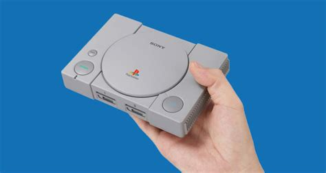 sony announces 99 playstation classic a mini incarnation of its original console with 20 built