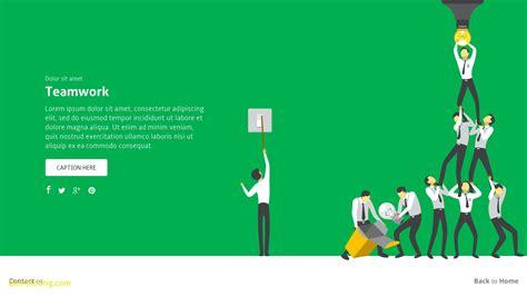Free teamwork powerpoint templates costumepartyrun colorful teamwork animated powerpoint template free image toneelgroepblik Choice Image