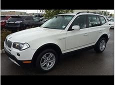 Pre Owned White on Black 2007 BMW X3 AWD 4dr 30i Review