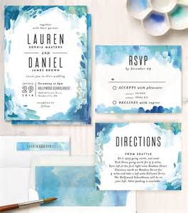 watercolor wedding invitations 25 best ideas about watercolor wedding invitations on watercolor invitations