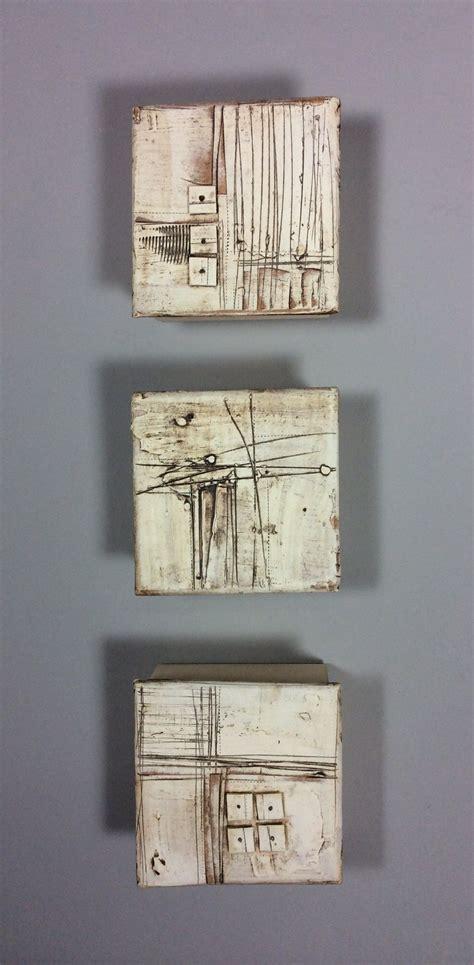 marks  texture  lori katz ceramic wall sculpture