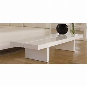 Table Tres Basse : aurore grande table basse japonaise laque blanc de achat ~ Teatrodelosmanantiales.com Idées de Décoration