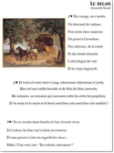 foto de Poème et chant Le relais Gérard de Nerval la