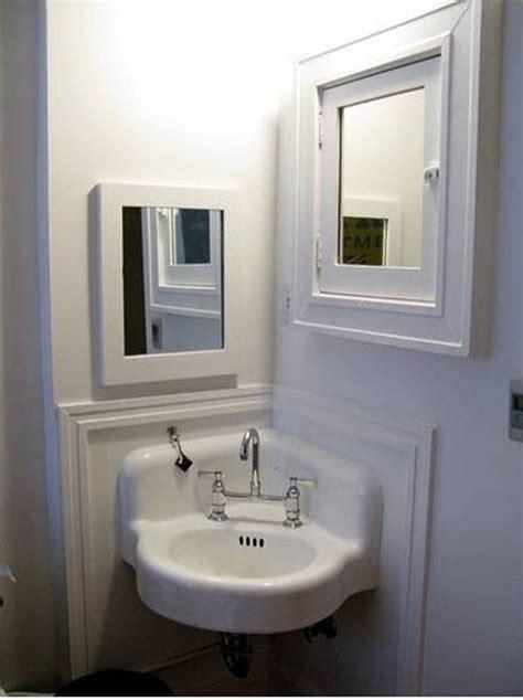 corner bathroom sink ideas home decor bathroom corner mirror cabinet tv feature