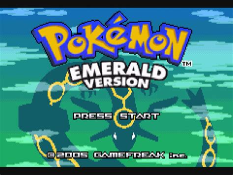 Pokmon Emerald Play Online At Textadventurescouk