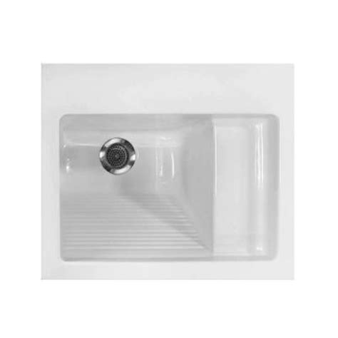 Home Depot Sinks Drop In by Hydro Systems 21 In X 26 In Acrylic Drop In Laundry Sink