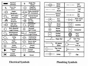 Architectural Floor Plan Legend Symbols