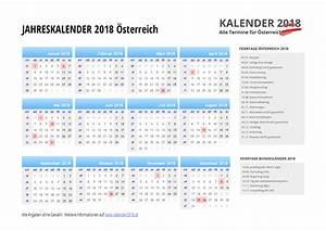 Ferien Nrw 2018 19 : kalender 2018 sterreich feiertage ferien kw ~ Buech-reservation.com Haus und Dekorationen