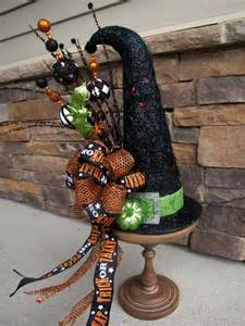 Halloween Witch Hat Table Decorations