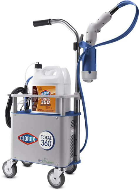 Clorox® Total 360® System - Electrostatic Sprayer | CloroxPro