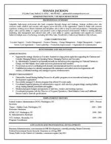 hr professional resume objective 10 human resources executive resume writing resume sle writing resume sle
