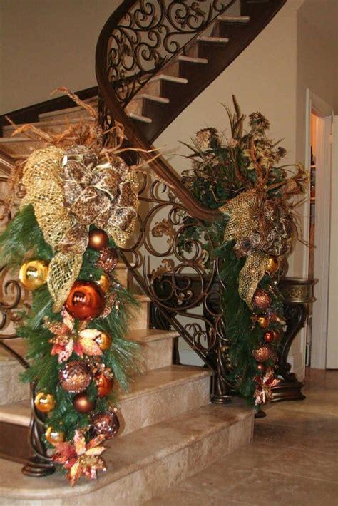 Treppe Weihnachtlich Dekorieren by Staircase Decorations Decorating