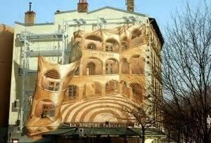 Mur Peint Lyon by Les Murs Peints Hommage Au Patrimoine Lyonnais