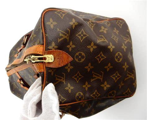 louis vuitton duffle sac souple vintage  boston brown monogram canvas leather weekendtravel