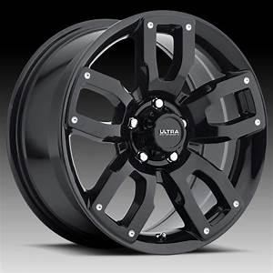 Ultra 251 Decoy Cuv Gloss Black Custom Wheels Rims