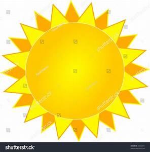 Simple Vector Sun Stock Vector 24692971 - Shutterstock