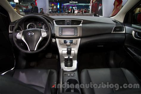 2014 nissan sentra interior nissan sentra at the 2014 moscow motor show interior