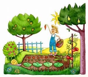 Jardin Dessin Couleur : jardin enchant ~ Melissatoandfro.com Idées de Décoration