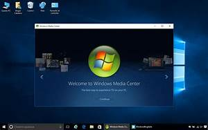 How to install Media Center on Windows 10