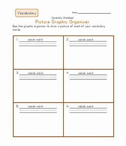 8 blank vocabulary worksheet templates free word pdf for Vocabulary words worksheet template