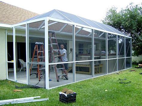 Backyard Screen Enclosures by Pool Enclosures Screen Rooms Condo Panels Freedom