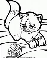 Coloring Pages Wind Chimes Printable Kitty Cats Kittens Cartoon Google Puppys sketch template