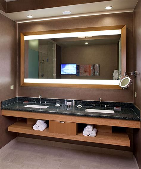 lighted mirror tvs electric mirror  global leader