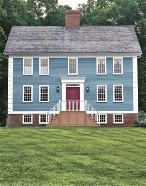 colonial home exterior house colors gray exterior house