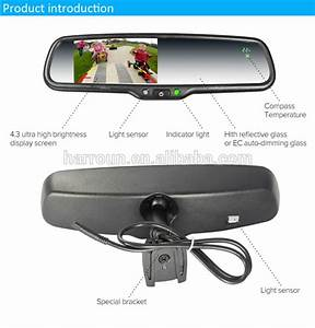 Design On Your Car Model 4 3 U0026 39  Lcd Auto Dimming Rearview