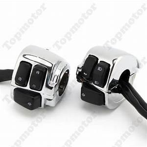 Motorcycle Parts 1 U0026quot  Handlebar Switches Control Kit  Wiring